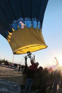 Blue Moon hot air balloon photo by Cheyenne MacMasters