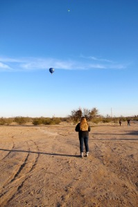Blue Moon hot air balloon farewell photo by Cheyenne MacMasters