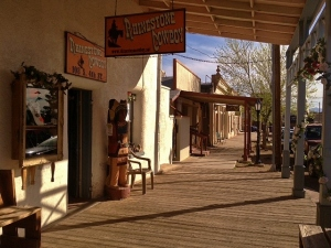 Tombstone boardwalk by Cheyenne MacMasters