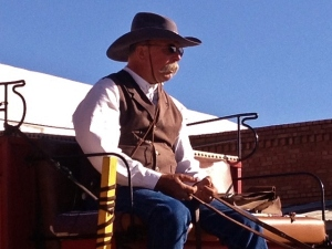 Stage coach driver photo by Cheyenne MacMasters