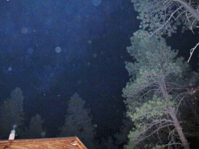 Orbs in Alpine, Arizona